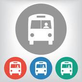 Bus icon illustration. — Stock Vector