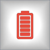 Battery load icon — Stock Vector