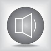 Icono de altavoz — Vector de stock