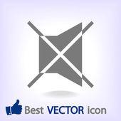 Mute symbol icon — Stock Vector