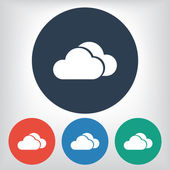 Cloud icon — Stock Vector