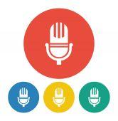 Microphone icon — Stock Vector