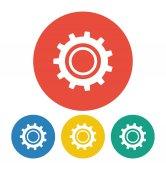 Gear icon illustration. — Stock Vector