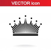 Crown icon — Stock Vector
