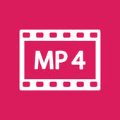 MP 4 video icon — Vetorial Stock