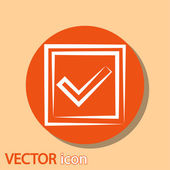 Confirm icons — Stock vektor