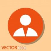 ícone do homem de negócios — Vetorial Stock