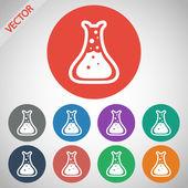 Chemistry Icon. — Stock Vector