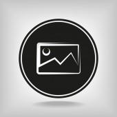 Icono de fotografía — Vector de stock