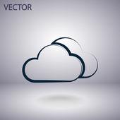 Weather Web icon — Stockvector