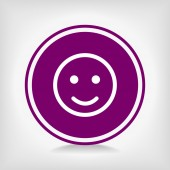 Smile Icon — Stock Vector