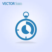 Icona del cronometro — Vettoriale Stock