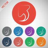 Undo icon — Stock Vector