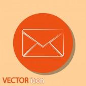 Envelope Mail icon — Stockvector