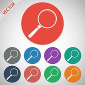 Icône de recherche — Vecteur