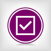 Check mark — Vecteur