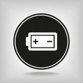 Icono de batería — Vector de stock