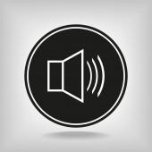 Ikonka głośnika — Wektor stockowy