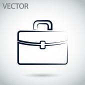 Pictogram werkmap — Stockvector