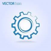 Icono de engranajes — Vector de stock