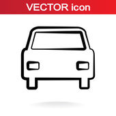 Icona auto — Vettoriale Stock