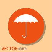 Deštník ikona — Stock vektor