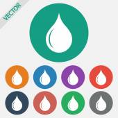 Drop icon — Vecteur