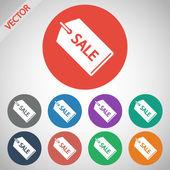 SALE tag icon — Stock Vector