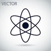 аннотация физика наука модели значок — Cтоковый вектор