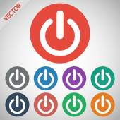 Power icon — Stock Vector