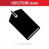 Tag icon — Stock Vector