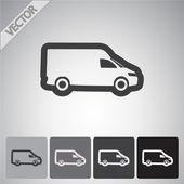 Truck icon design — Stock Vector