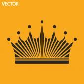 Icône de la couronne — Vecteur