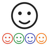 Smile Icons set — Stock Vector