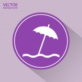ícone de guarda-chuva — Vetorial Stock