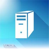 计算机服务器图标 — 图库矢量图片