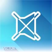 ícone de alto-falante — Vetor de Stock