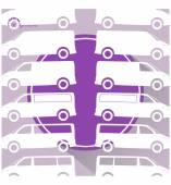 Trucks icons — Stock Vector