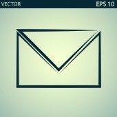 Envelope Mail icon — Vector de stock