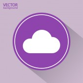 Cloud icon illustration — Stock Vector