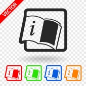 Opened book — Stock Vector