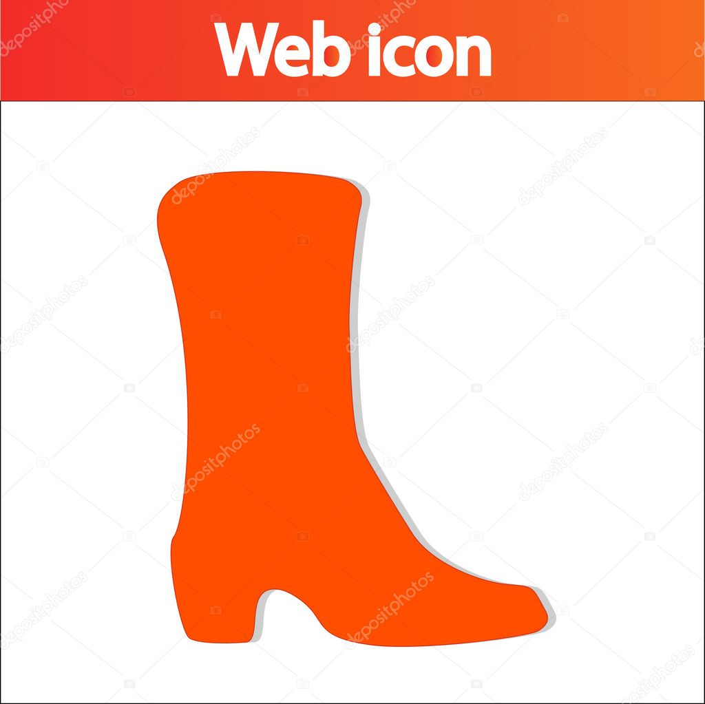 Silhouette icon set of mens and of womens shoes fashion Footwear