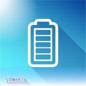 Icona di carico della batteria — Vettoriale Stock
