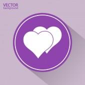 ícone de um coração — Vetorial Stock