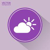 Cloud icon illustration — Vetorial Stock