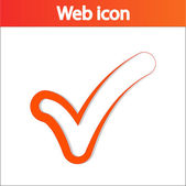 Confirm icon — Stock Vector