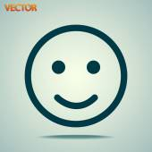 Smile Icon — Stock Vector