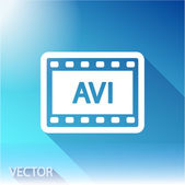 Video icon design — Stock Vector