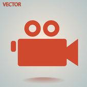 视频摄像机图标 — 图库矢量图片