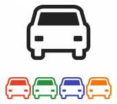 Car icon design — Stock Vector